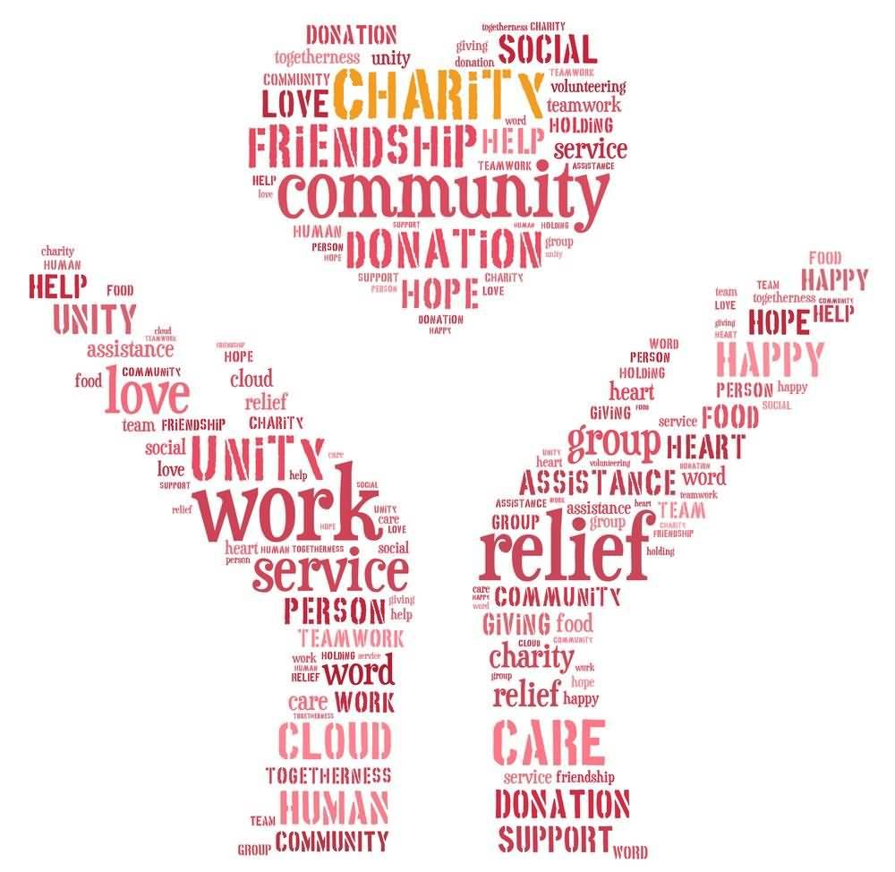 Charity Friendship Donation Unity Relief Hope Humman Community On World Humanitarian Day 2020