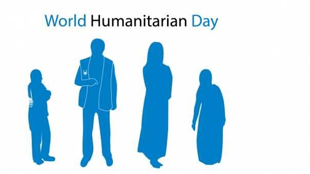 Happy World Humanitarian Day 2020 Image