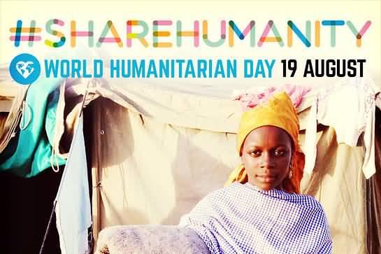 Share Humanity World Humanitarian Day 19 August 2020
