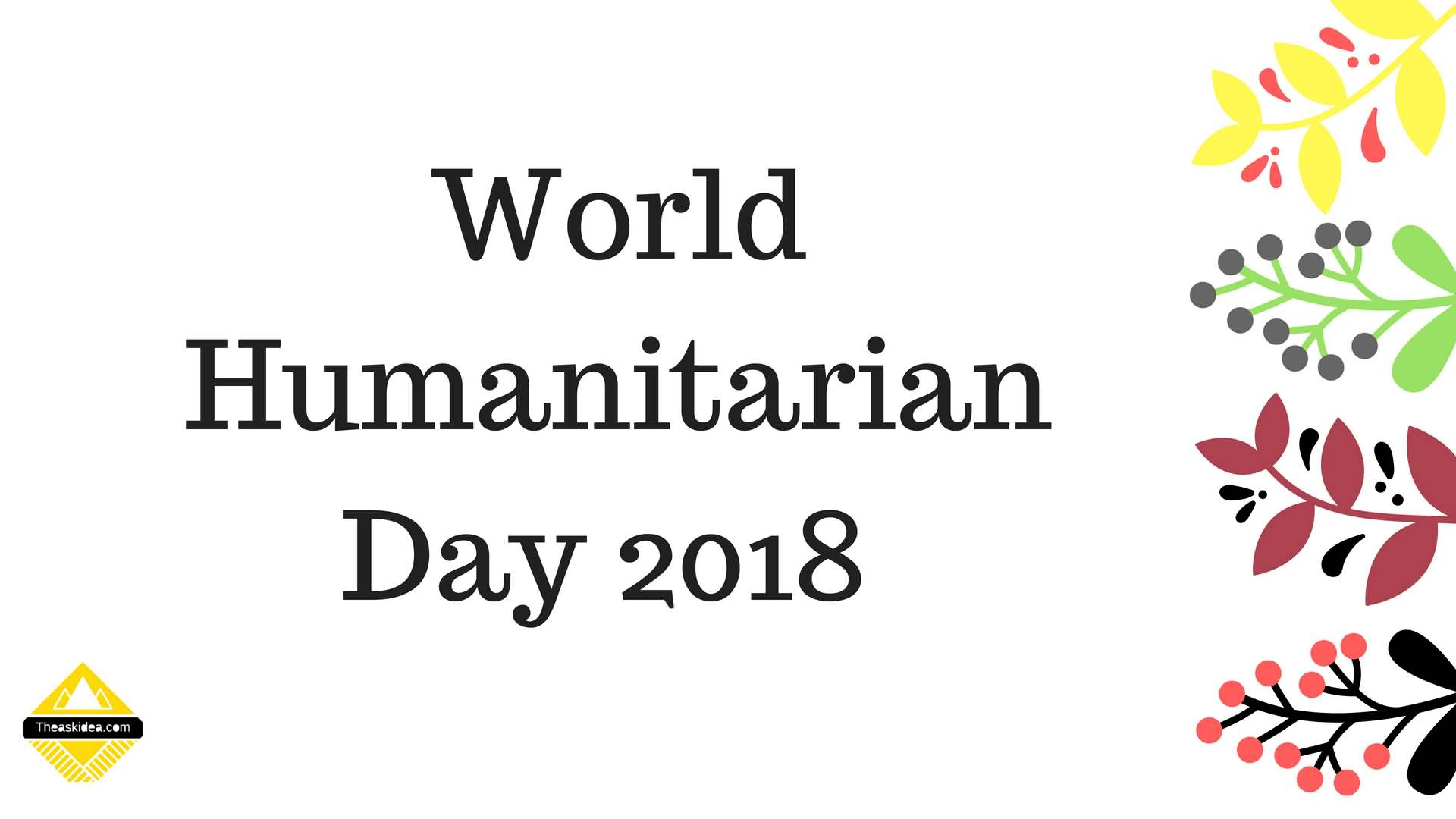 World Humanitarian Day 19th August