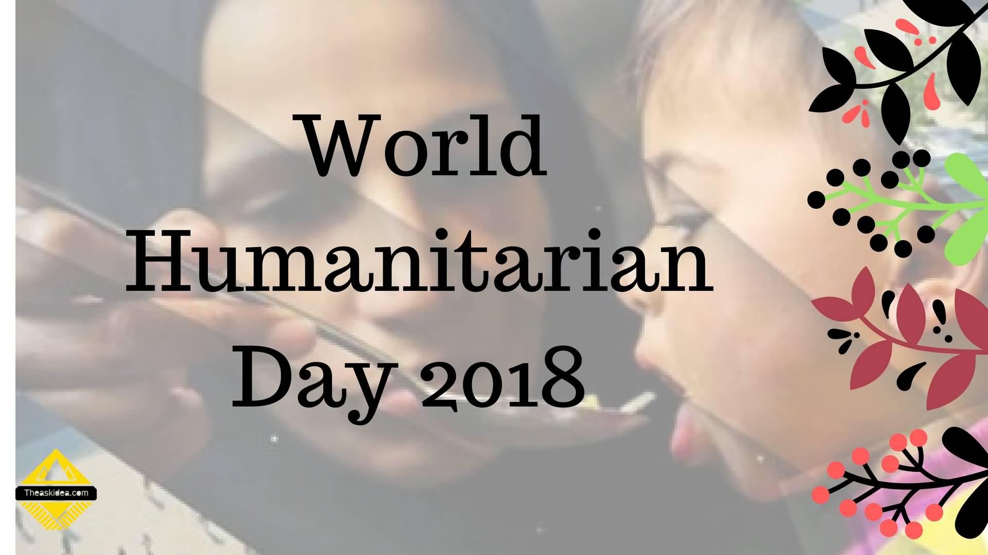 Inspire The World's World Humanitarian Day