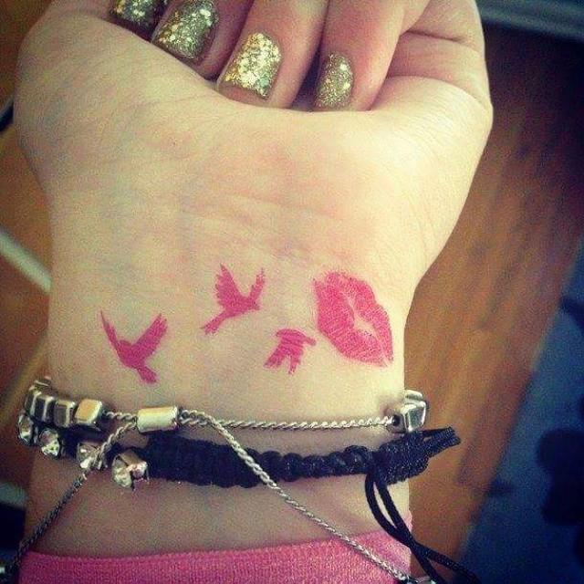 Awesome Feminine Classy Wrist Tattoo
