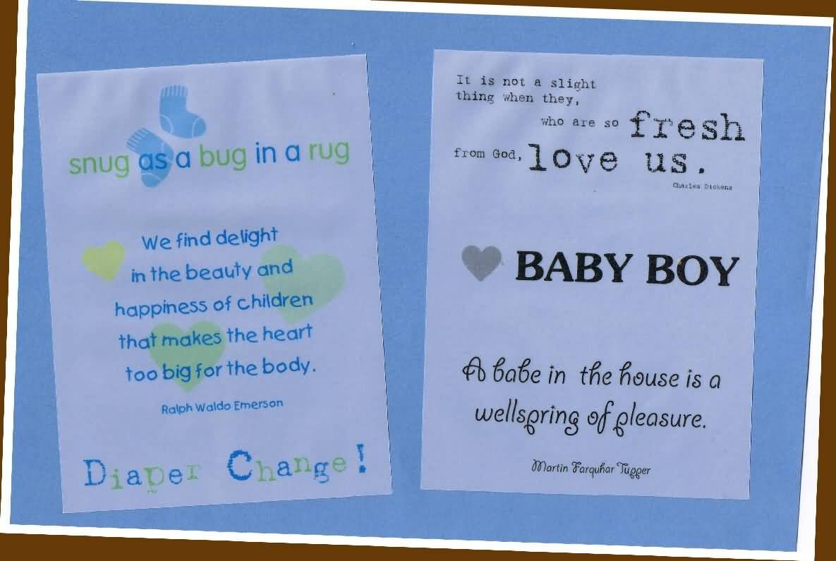 Baby Quote About Love A Babe In The House Is A Wellspring Of Pleasure
