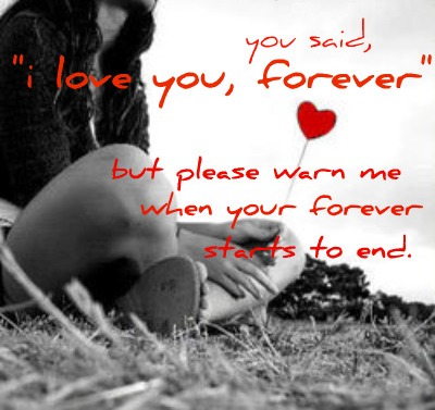 Bad Feelings Meaning Awesome Bad Feeling Wallpaper You Said I Love You Forever.