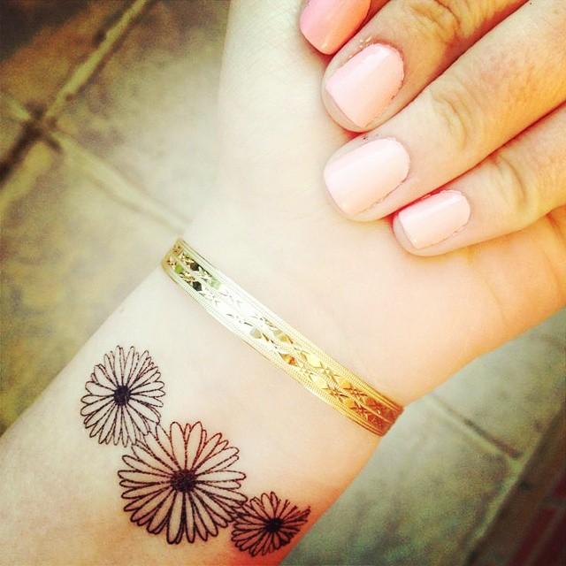 Best Flower Classy Wrist Tattoo