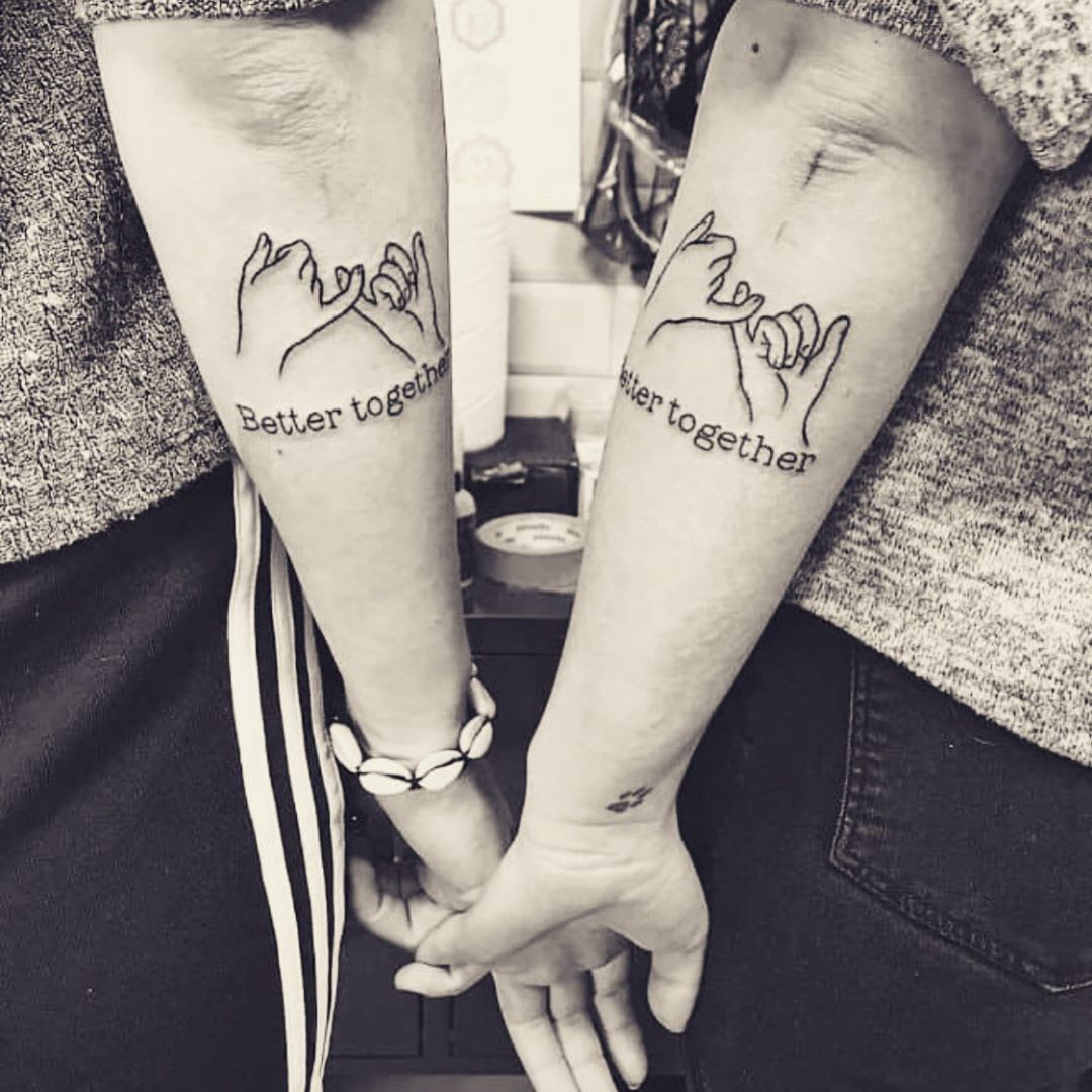 Better Together Classy Sentimental Tattoo For Couples