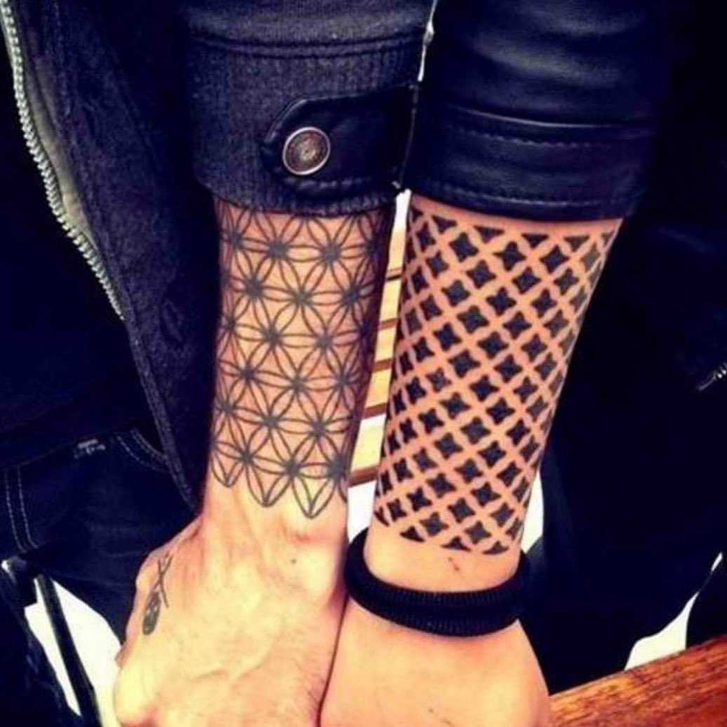 Classy Sentimental Tattoo For Couples On Forearm