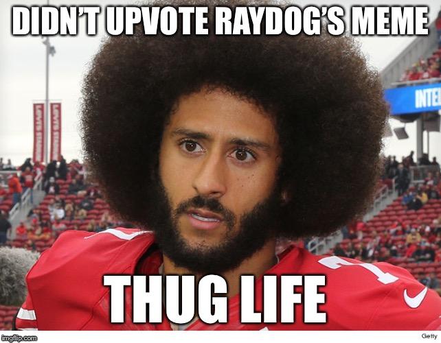 Didnt Upvote Raydog's Thug Life China Boycott Meme