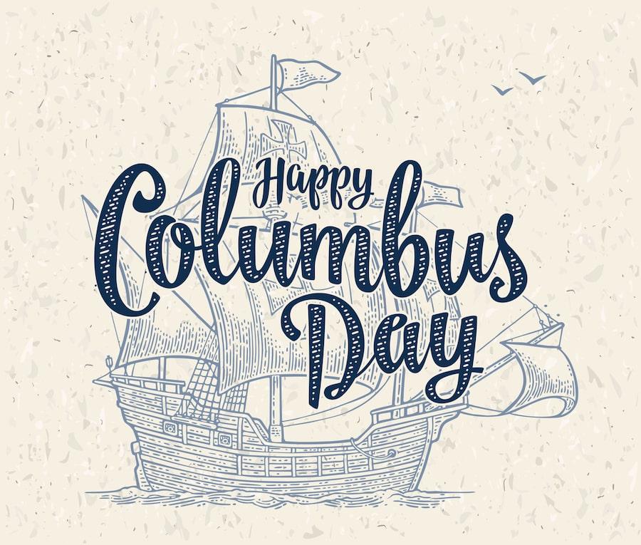 Flagship Happy Columbus Day Usa