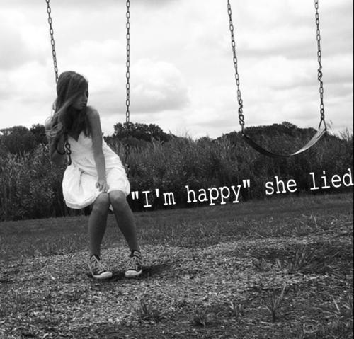 Lovely Sad Girl Bad Feelings Image I Am Happy She Lied.