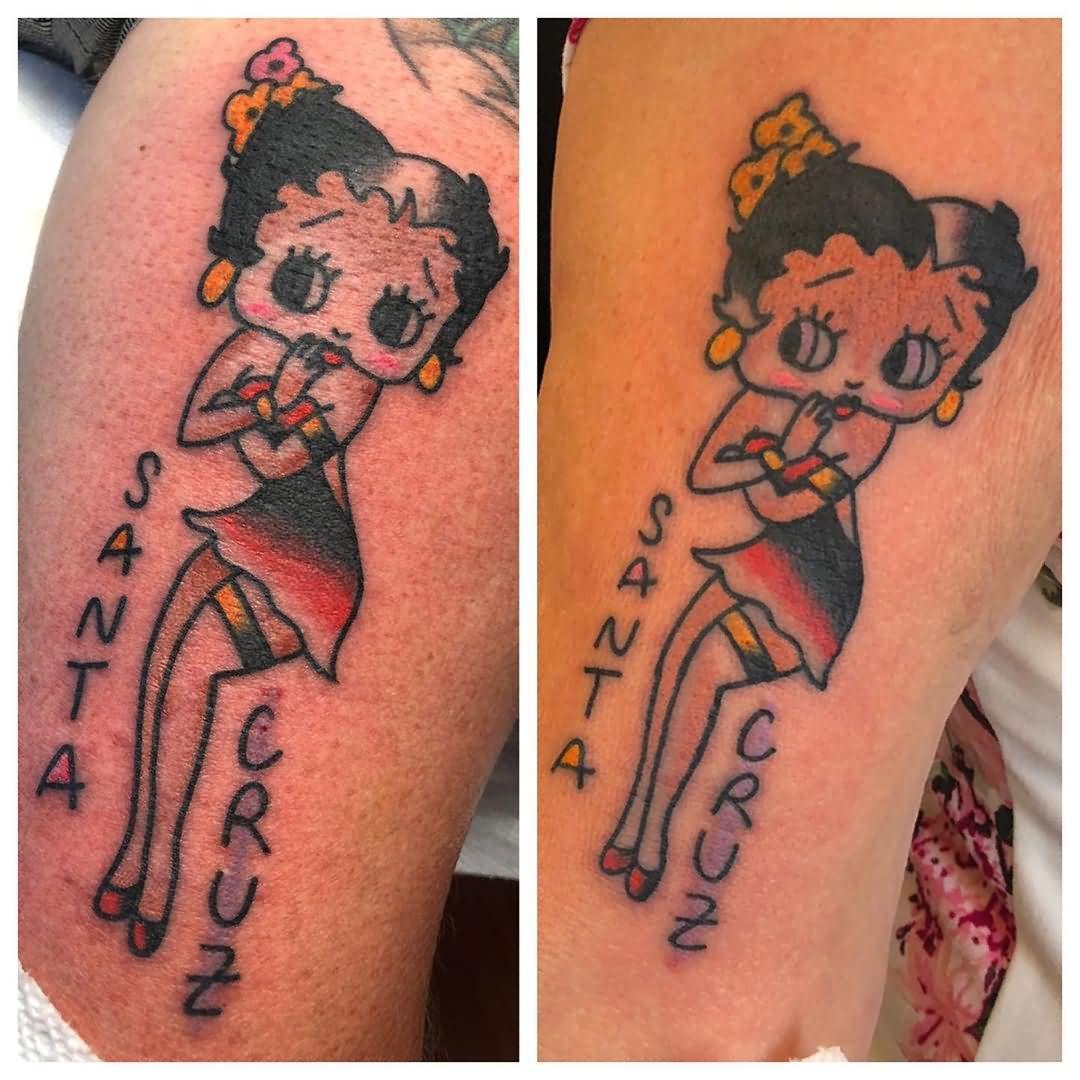 Santa Cruz Betty Boop Tattoo