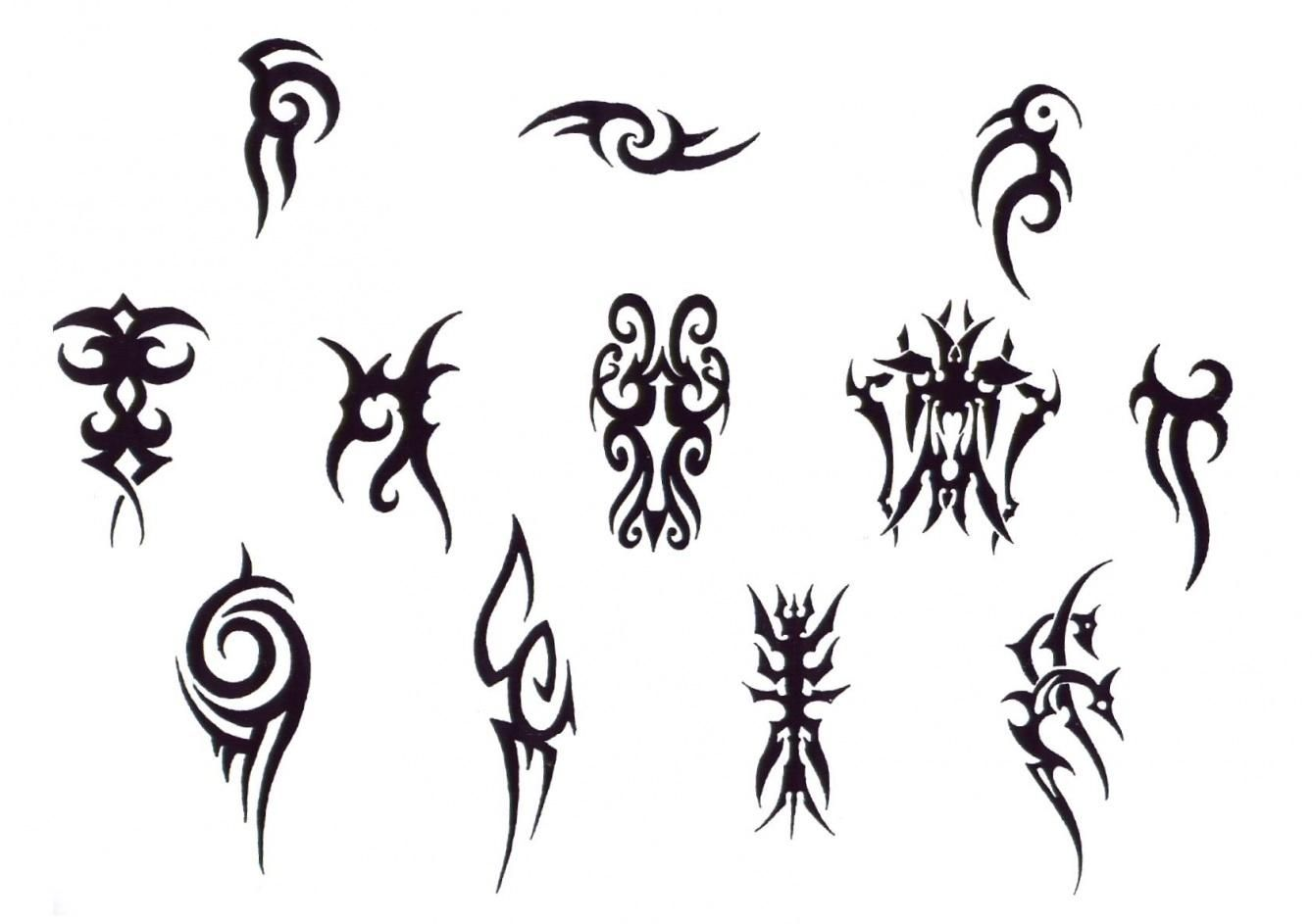 Simple Tribal Tattoo Designs For Hand