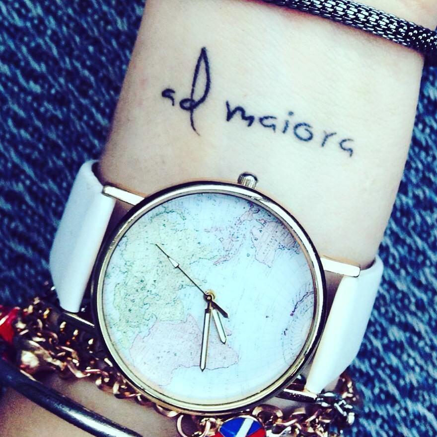 Special Feminine Classy Wrist Tattoo