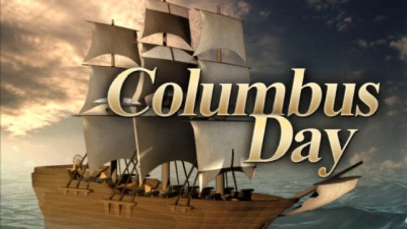 Welcome Happy Columbus Day