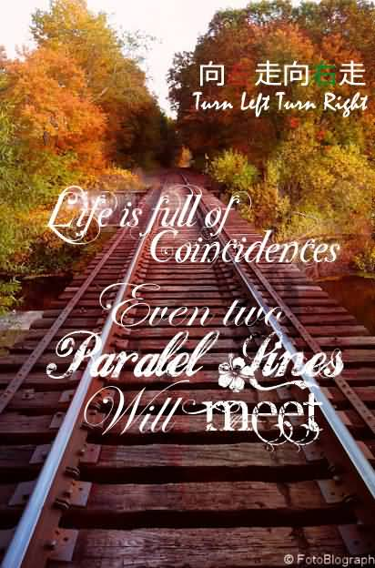 Quotes 0n Beauty Life Is Full Of Coincidences