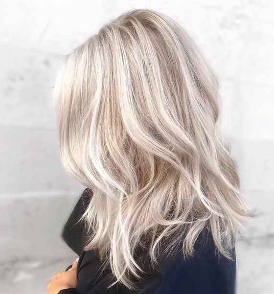Brown Shade Ash Icy Blonde Hair Color Idea
