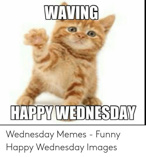Waving Happy Wednesday Meme