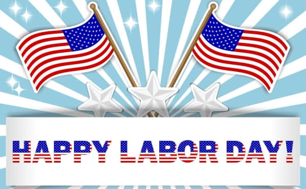Flag Usa Labour Day Weekend 2020