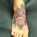 49 Small Tattoos on Foot For Guys