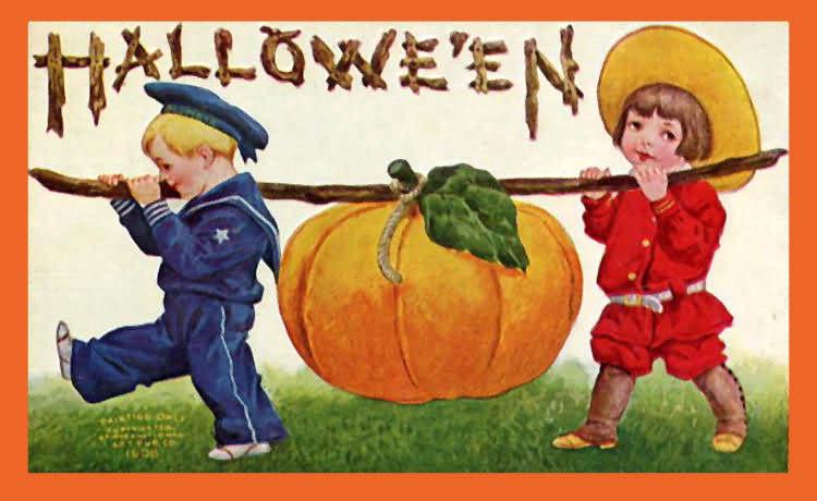 A Big Pumkin Card Halloween Day 2020