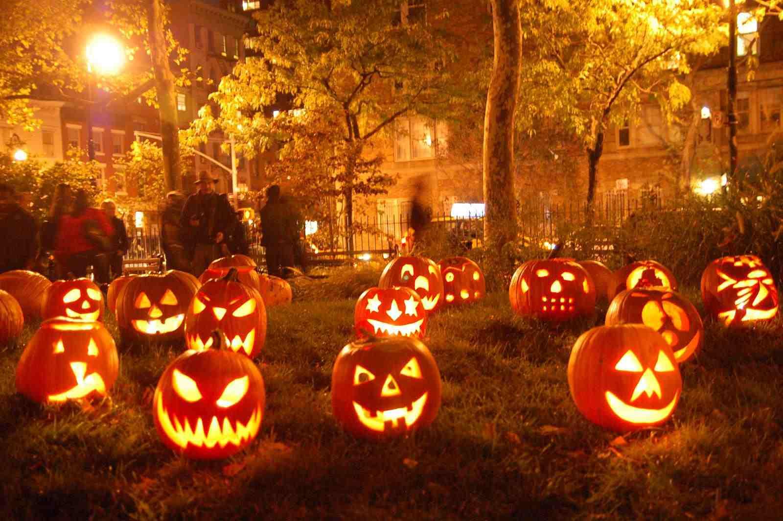A Candle Halloween Pumkin 2020