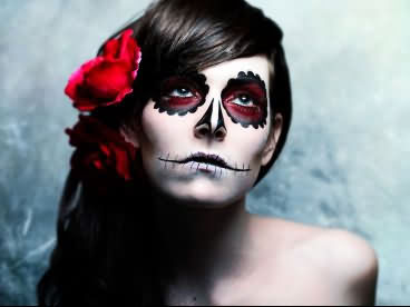 A Girl Celebrate This Day With Horrorble Face Halloween Day 2020