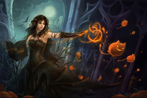 A Helloween Sandra Halloween Day 2020
