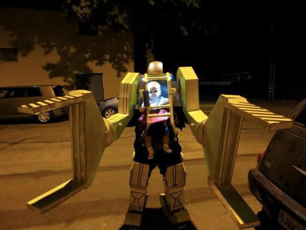 Baby Robot On Halloween 2020 Whatsapp