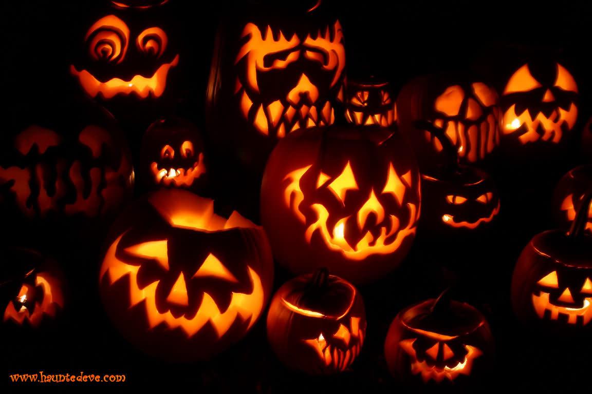 Different Pumkin Style Halloween Day 2020