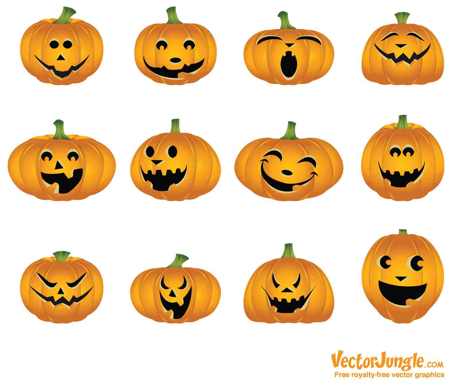 Different Smilie Halloween Day 2020