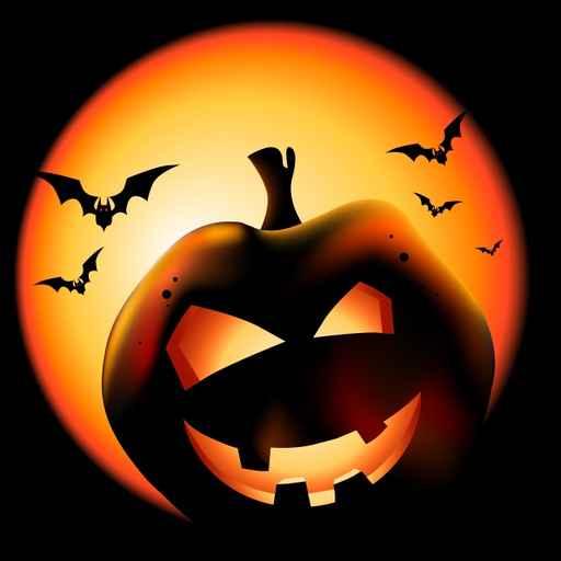 Grinning Halloween Lantern Vector Illustration.
