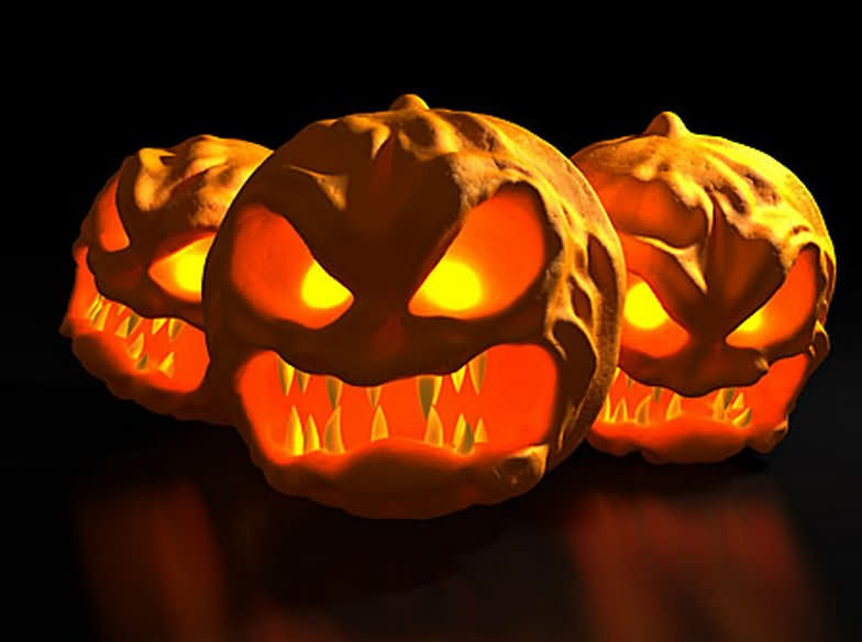 Funny Angry Pumkin Halloween Day 2020