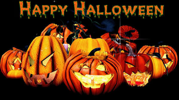 Happy Halloween Day 2020 Glitter