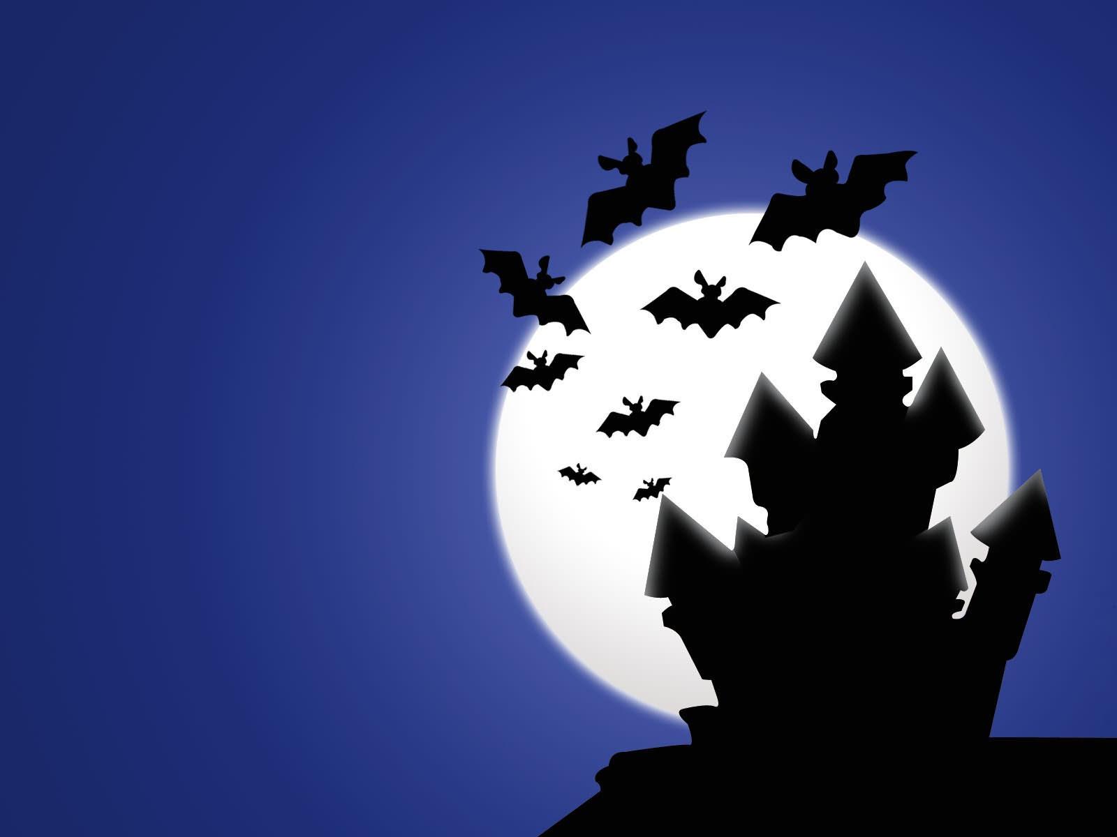 House Of Bats On Halloween