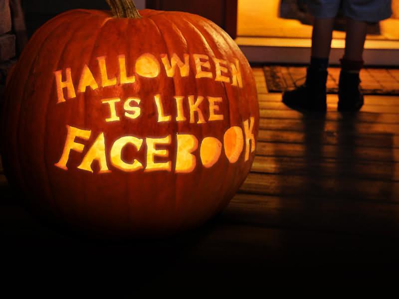 Make Facbook Halloween