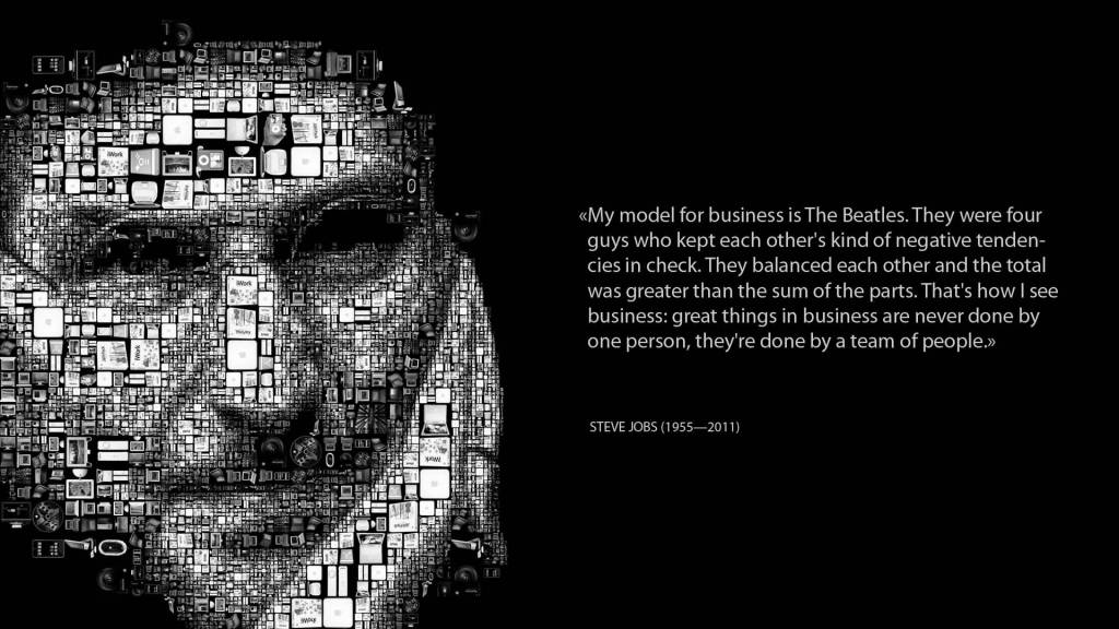 Quote Inspirational About Model For Business Is The Beatles.