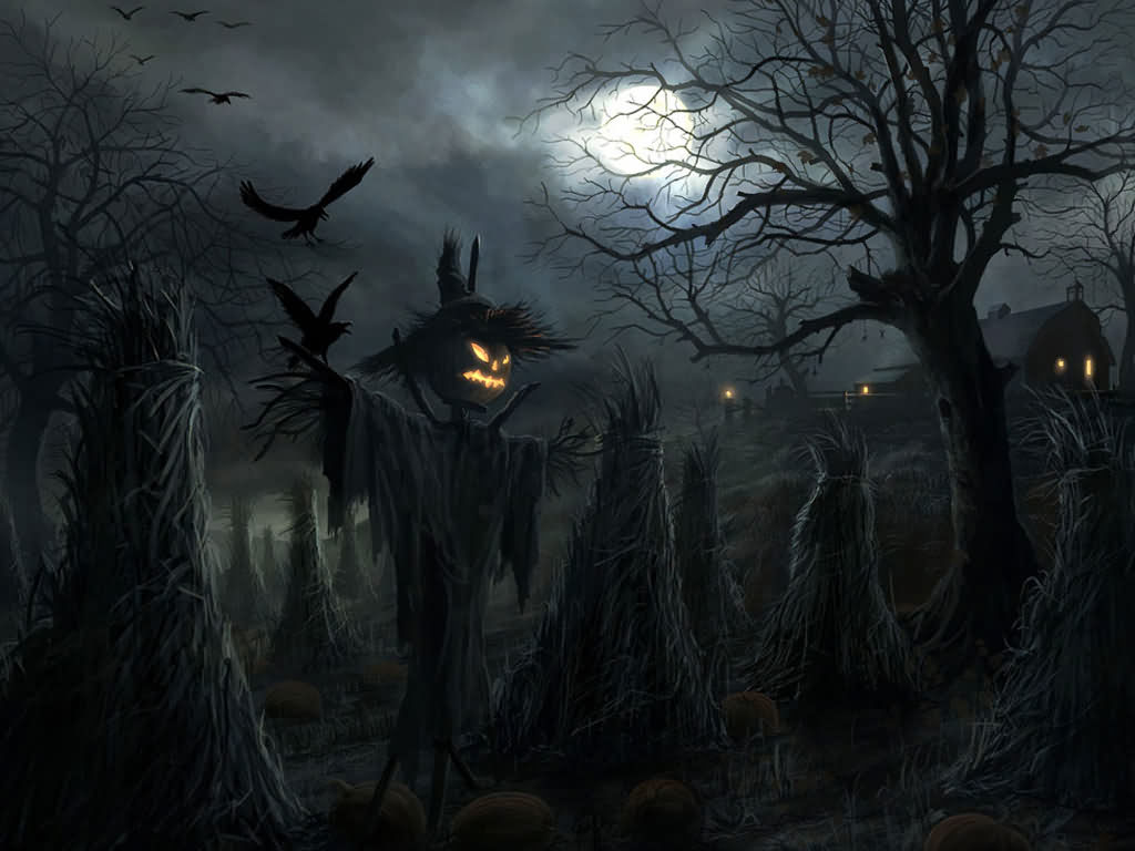 Scarecrow For Halloween