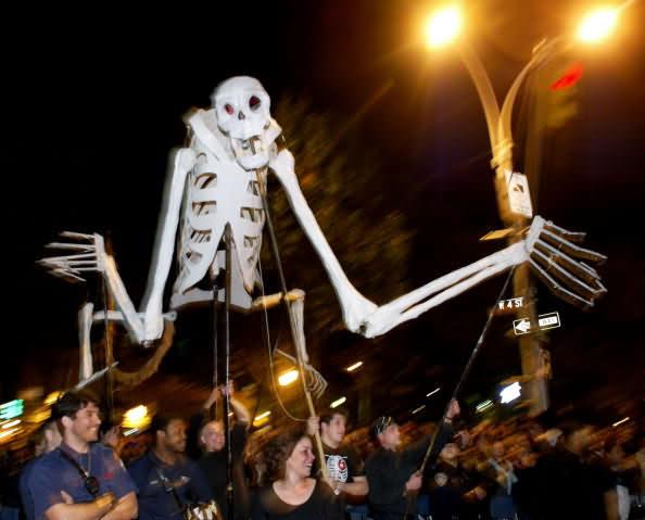 Skelton For Halloween
