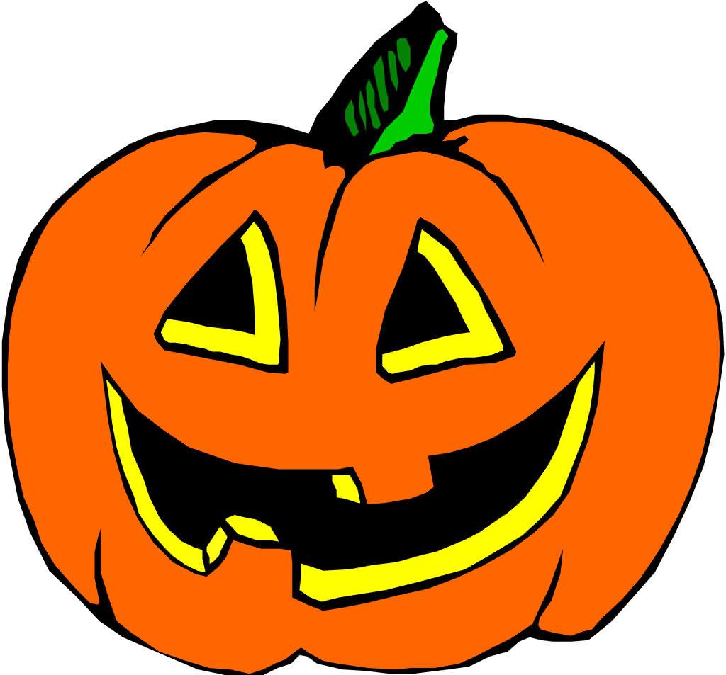 Smile Pumkin On Halloween