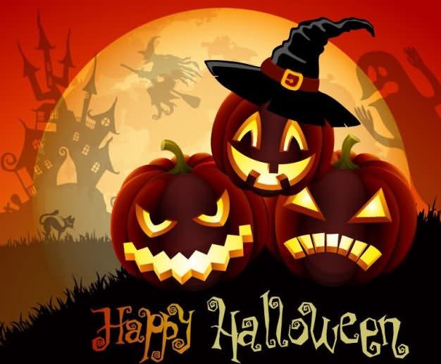 Illustration Pumkin Halloween Day 2020