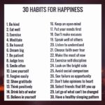 30 tips of #Happiness …….