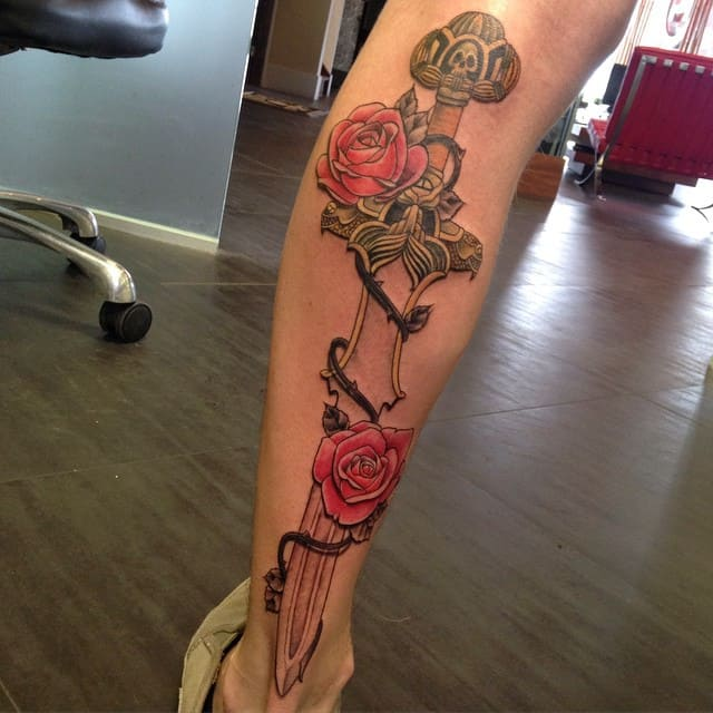 3d Calf Tattoo 2021