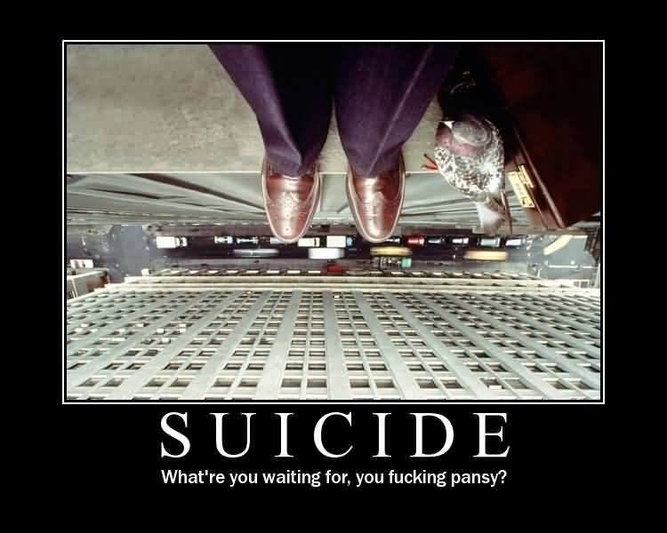 Funny Suicide Image