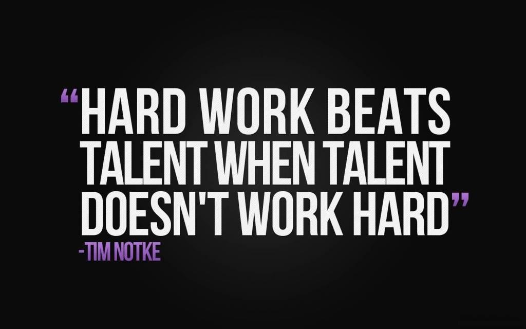 Motivational Hard Work Quote.
