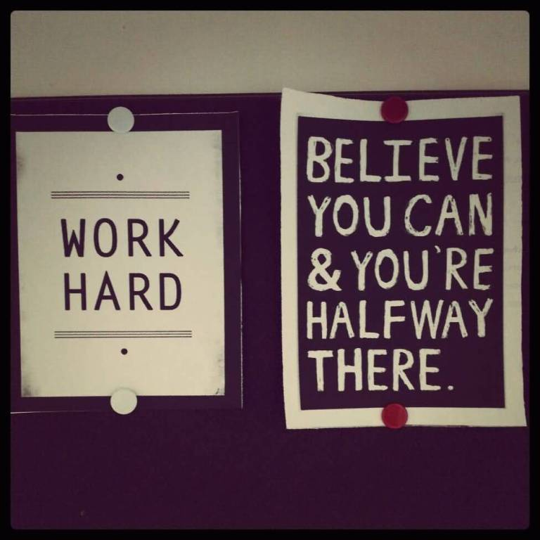 Motivational Work Hard Quotes Believe You Can Youre Halfway.
