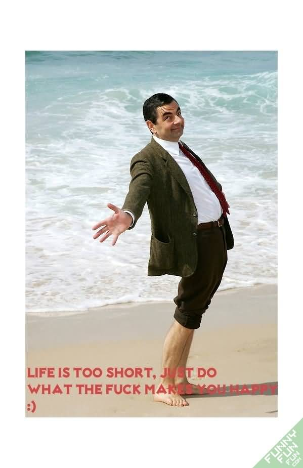 Mr. Bean Image With Nice Quotes