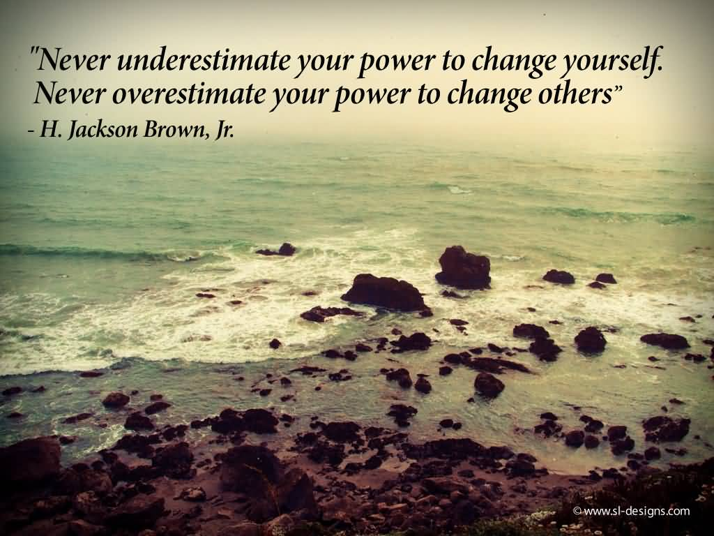 Positive Motivational Quote Never Understimate Your Power Hd Wallpapers