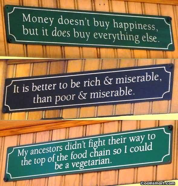 Wisdom Quotes About Money