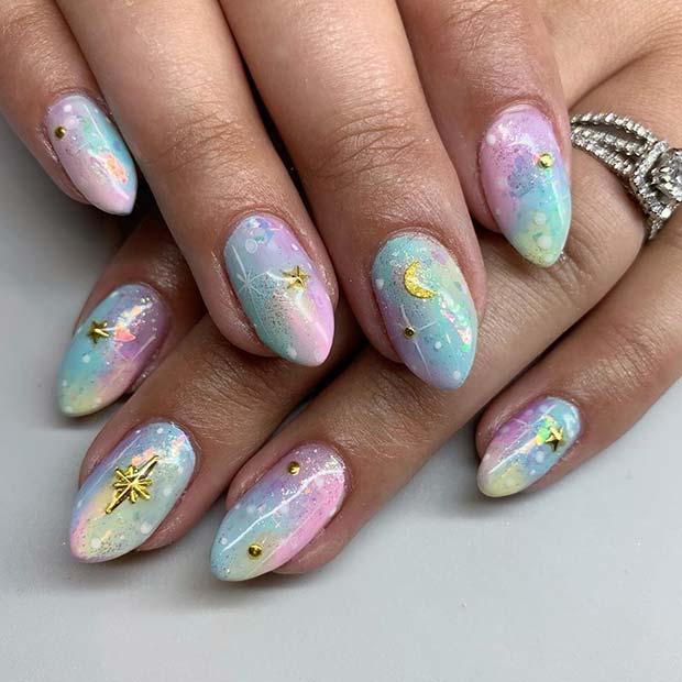 Magical Mani Nail Art Idea