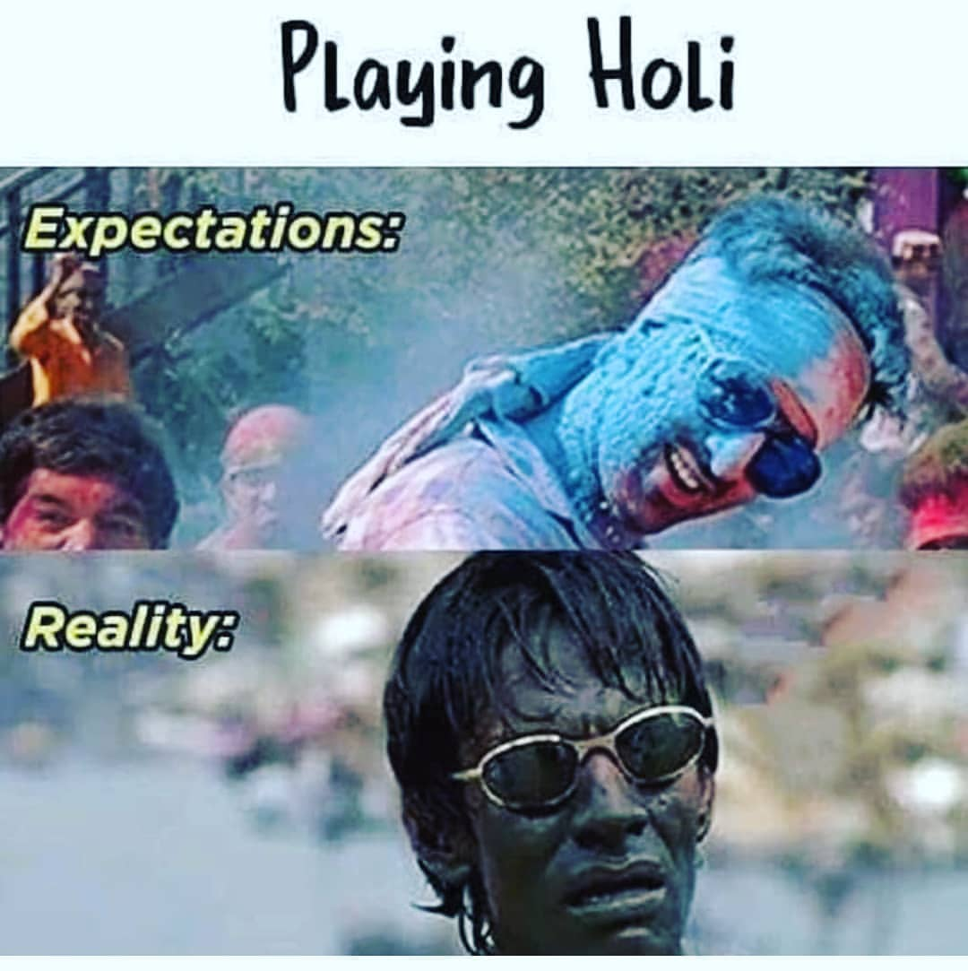 Playing Holi Like That